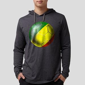 Congo Republic Football Mens Hooded Shirt