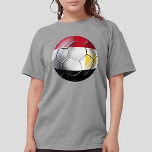 Egypt Soccer Ball Womens Comfort Colors Shirt