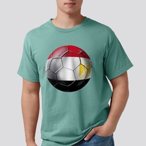 Egypt Soccer Ball Mens Comfort Colors Shirt