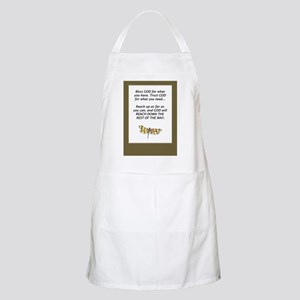 Prayer BBQ Apron