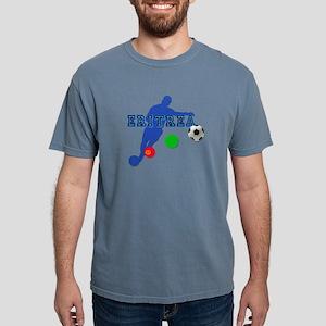 Eritrea Football Player Mens Comfort Colors Shirt