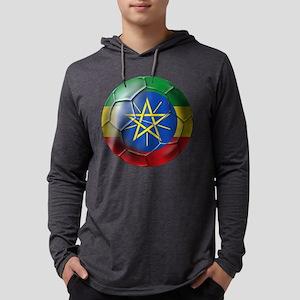 Ethiopia Football Mens Hooded Shirt