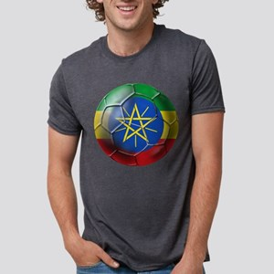 Ethiopia Football Mens Tri-blend T-Shirt