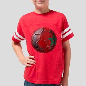 Moroccan Soccer Ball Youth Football Shirt