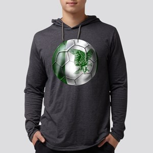 Nigeria Football Mens Hooded Shirt