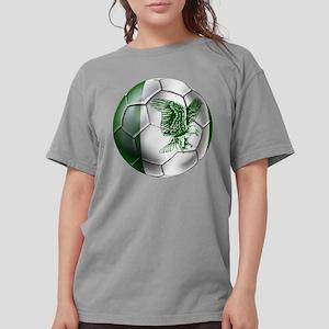 Nigeria Football Womens Comfort Colors Shirt