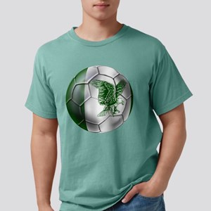 Nigeria Football Mens Comfort Colors Shirt