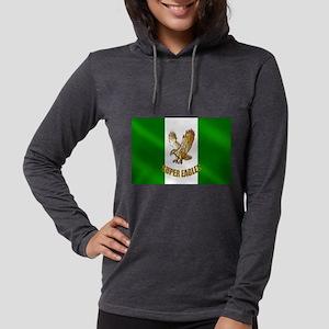 Nigerian Eagle Flag Womens Hooded Shirt