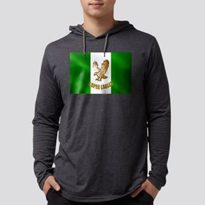 Nigerian Eagle Flag Mens Hooded Shirt