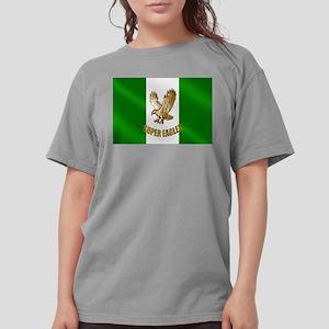 Nigerian Eagle Flag Womens Comfort Colors® Shirt