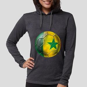 Senegal Football Womens Hooded Shirt