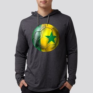 Senegal Football Mens Hooded Shirt