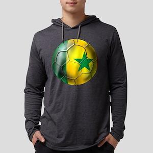 Senegal Football Mens Hooded Shirt