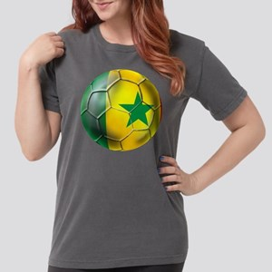 Senegal Football Womens Comfort Colors Shirt