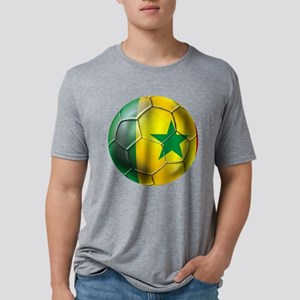 Senegal Football Mens Tri-blend T-Shirt