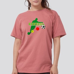 Senegal Soccer Womens Comfort Colors Shirt