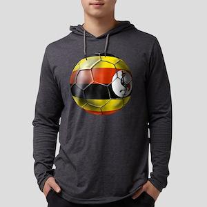 Uganda Football Mens Hooded Shirt