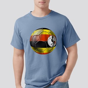 Uganda Football Mens Comfort Colors Shirt