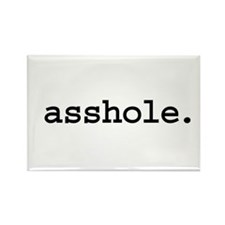 asshole. Rectangle Magnet (100 pack)