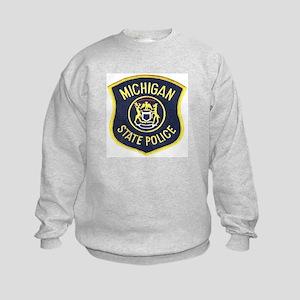 Michigan State Police Kids Sweatshirt