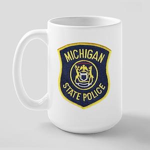 Michigan State Police Large Mug
