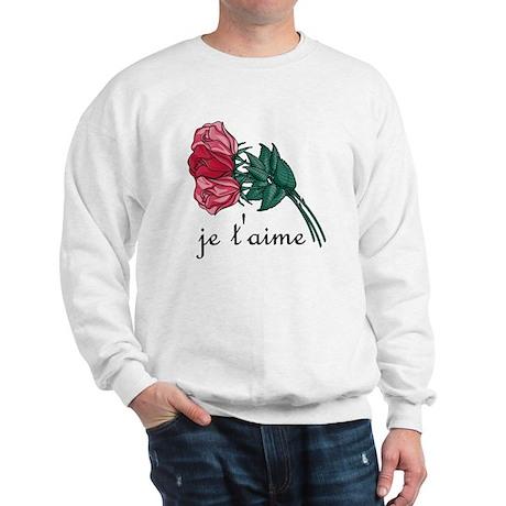 Je T'Aime Sweatshirt