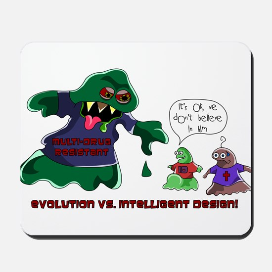 Evolution Vs ID Mousepad