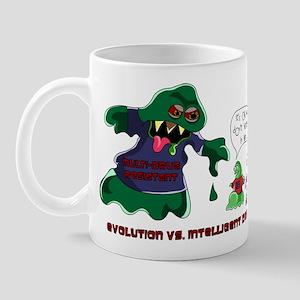 Evolution Vs ID Mug