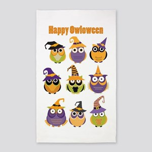 Happy Owloween 3'x5' Area Rug