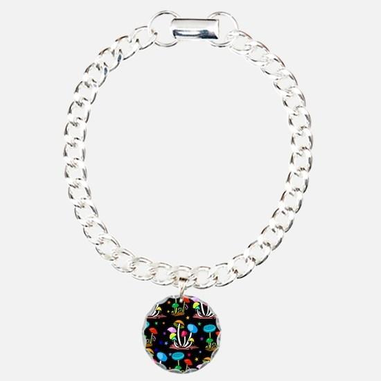 Rainbow Of Shrooms Bracelet