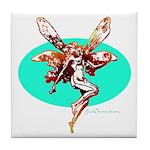 Fire Fairy Tile Coaster