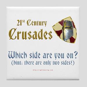 21st Century Crusades Tile Coaster