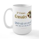 21st Century Crusades Large Mug