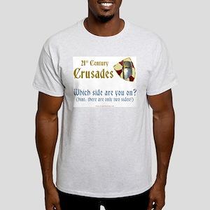 21st Century Crusades Ash Grey T-Shirt