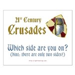 21st Century Crusades Small Poster