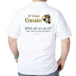 21st Century Crusades Golf Shirt