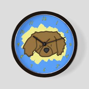 Love Tibetan Spaniel Clock