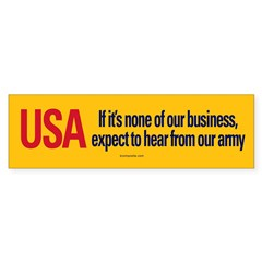 If It's None of Our Business sticker