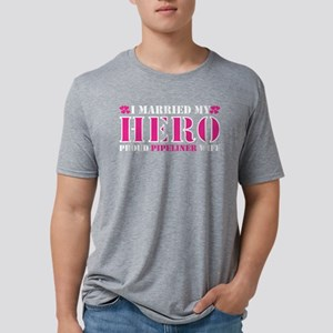 I Married Hero Proud Pipeliner Wife T-Shirt