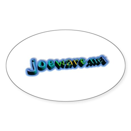 joeware.net Oval Sticker