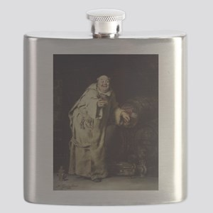 Drunk As a Monk Flask