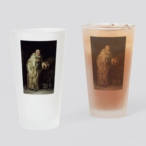 Drunk As a Monk Drinking Glass
