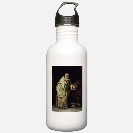 Drunk As a Monk Water Bottle