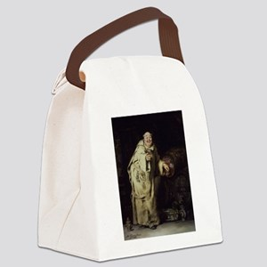 Drunk As a Monk Canvas Lunch Bag