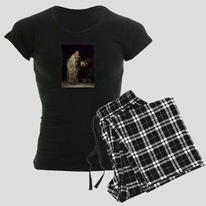 Drunk As a Monk Women's Dark Pajamas