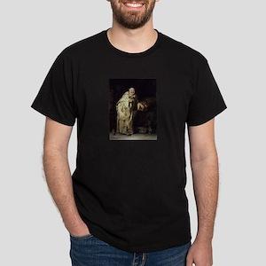 Drunk As a Monk Dark T-Shirt