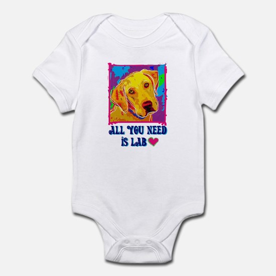 All You Need is Lab Infant Creeper