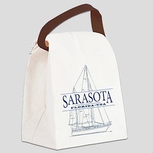 Sarasota FL - Canvas Lunch Bag