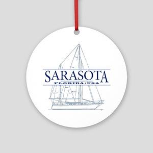 Sarasota FL - Ornament (Round)