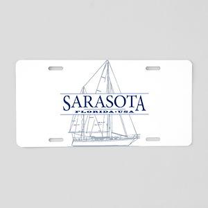 Sarasota FL - Aluminum License Plate